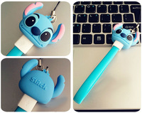portable keychain wholesale cartoon data cable for phone
