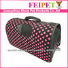 new fashion foldable mesh dog carrier pet bag carrier wholesale