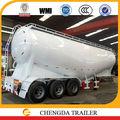 Eje 3 36-60cbm en polvo a granel del tanque semi remolque utilizado a partir de la fábrica de china