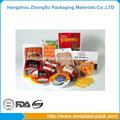 Segurança de embalagens de alimentos congelados, embalagens plásticas de alimentos, alimentos a vácuo saco de plástico