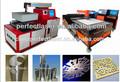 Pe-m700-3015 1-7mm espessura açoinoxidável usada de corte a laser máquina de corte de aço