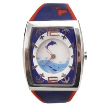 Custom design printed dial Watch mechanism for kid