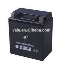 Good price 12v motorcycle battery 12N7L-BS