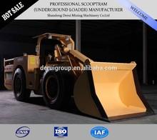 underground mining articulated 4x4 dump wheel loader