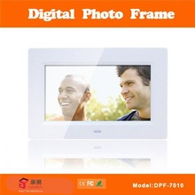 7 inch super slim picture+music+movie+calendar+clock+memory+ ebook digital photo frame dpf-7001