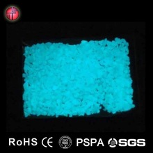 2015 Wholesale Best high bright glow in the dark pebble/photoluminescent luminous Chinese supplier pebble
