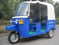 India Bajaj tricycle/ three wheel motorcycle/ bajaj passenger tricycle