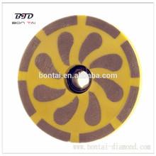 Stone polishing wheel for marble hand polishing machine