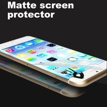 Factory price 0.12mm PET anti-fingerprint anti-reflection matte finished screen cover for iphone 6 plus