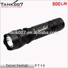 police security flashlight with gun mount hunting torch light high lumens light PT10