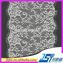 Supplier Of Eyelash Lace Nylon Stocklot Lace Quality Brazilian Lace Stockings