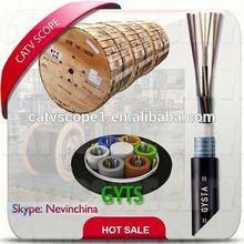 Loose tube fiber Optic Cable GYTS/GYTA/GYTY, 24C, 48C,96C
