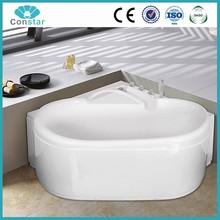 cheap simple built-in enameled steel bathtub