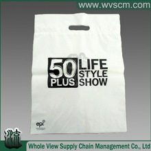 Anti-tradition! Real Biodegradable marketing shopping bag from PLA ,PPAT, CSA material.Serious on Green Earth!!