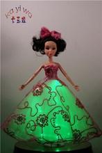 Lovely Doll Toys / Sparkling Carnival Decorations / KaYiWa Barbie Dress