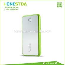 USB Power Bank 6000mAh Polymer Battery for Smartphone