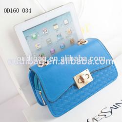China Wholesale New Arrival Fashion Design PU Leather Woman Shoulder Bag
