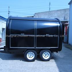 big wheels sliding windows carts to sell fast food/food van for sale/fast food van for sale