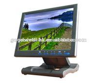 AV/VGA/DVI Input Touch 4:3 10.4 Inch 12V DC LCD with foldable Bracket