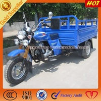 three wheel motorcycle for adults/big cargo tricycle for South America/3 wheel tricycle