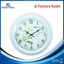 Plastic Wall Clock Mechanism/antique brass wall clock/6168 sweep movement