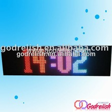 Plastic high quality led sign xxx moves channel letter ben long time warranty
