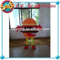 HI CE High quality Funny Big hamburger mascot costumes for sale