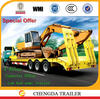 2015 new good price low loader heavy equipment trailer for sale
