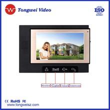7inch TFT Color Video Door Phone Intercom Door Entry system access control