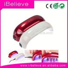 2015 China Top Ten Selling Products 6W Portable Nail Polish LED Light Lamp natural nail products