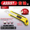 2015 new design three blades utility knife Assist SK4 18mm safety blade knife