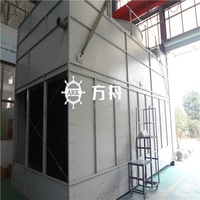 combined flow closed cooling towers filler material