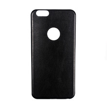 Manufacture OEM thin tpu leather combo case For Iphone 6