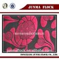 poliéster rojo de la rosa flor beatle acudieron el patrón de la tela de gasa blusas