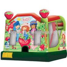 kids inflatable bouncer cartoon