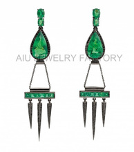 Contemporary antique dangle earring wholesale