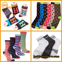 Socks manufacture custom terry tube 100% cotton happy socks