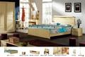 baixo preço de madeira sólida jogo de quarto de cama europeia moderna cama set