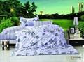 Cetim de algodão jogo do fundamento, personalizadoimpresso roupa de cama