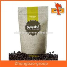 green coffee tea bags,standup coffee bag, zip tea bag