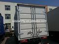 fibra de vidro rígida painéis de isolamento de carga seca e carrocerias de caminhões refrigerados