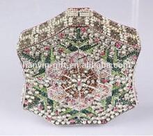 3d uv crystal paper gift bag for women crystal earrings for women delicate crystal bag neckalce for women