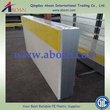 Custom-made HDPE Kick Plate, Dasher Board, Top Stripe