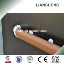 PVC wall mounted interior stair railing
