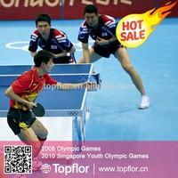 Topflor| Indoor PVC Table Tennis Court Vinyl Sports Floorings