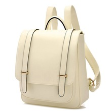 2015 leather backpacks women