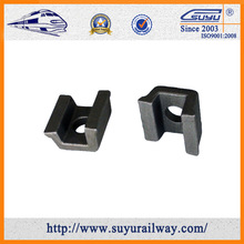 BS/DIN/TB Standard high tensile clamping clip for fastening railroad