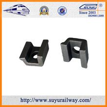 Bs / DIN / TB padrão de alta resistência de fixação clipe para fixação da estrada de ferro