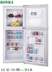 Top Freezer Double Door No Frost KONKA BCD-188W Household Fridge/Refrigerator R134a/R600a