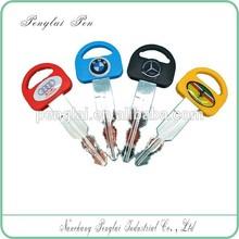 Funny plastic key ball pen for promotion gift